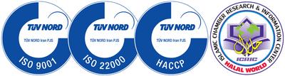Nooshazar's Certification Logos